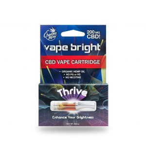Buy thrive CBD vape cartridge  200mg online.