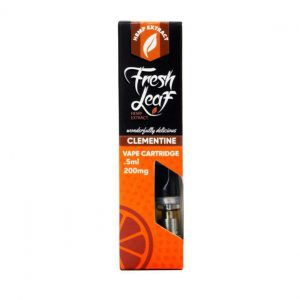 Buy Freshleaf Clementine CBD Vape Cartridge - 500MG online
