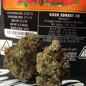 Buy Kush sorbet online in Los Angeles