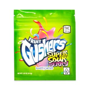 Where to order FRUIT GUSHERS SUPER SOUR BERRY (500MG THC) online in Uk